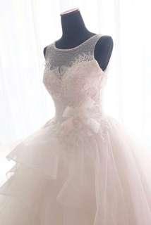 Gaun pengantin second Wedding gown
