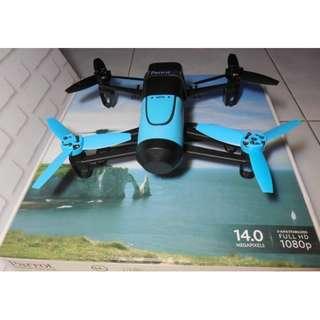 Drone Parrot Bebob Blue bagus Seperti Baru