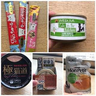 🚚 🐱貓主子罐頭+零食