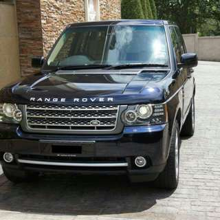 2011 Range Rover 4.4L TDV8 Diesel Vogue