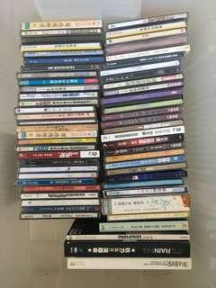 Chinese, English Music Cd $1 each