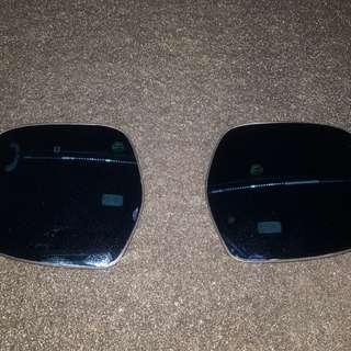 Used anti glare lens for hiace mirrors