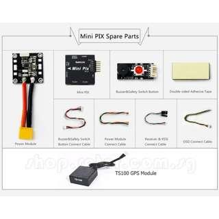 RadioLink Mini PIX F4 Flight Controller with TS100 Mini M8N GPS Module   Pixhawk. Mission Planner required. Code: RL-MINI-PIX-GPS