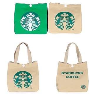 日單 星巴克 便當袋 飯盒包 手提包 餐袋 双面印花 小便當包
