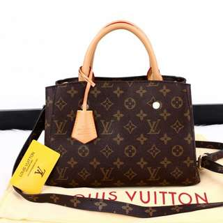 Tas Wanita  Louis Vuitton Montaigne Medium Kode : LV-M4136 / 84132.