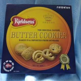 丹麥藍罐曲奇,butter cookies,908g,新年賀禮