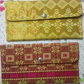 2 Aztec wallets glitz collection