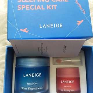 Laneige sleeping care special kit