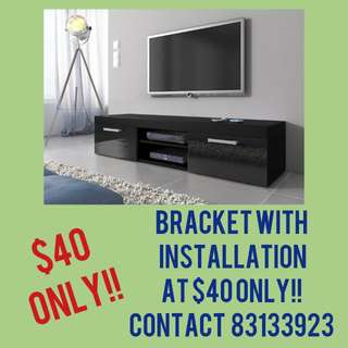 Tv bracket (normal flat bracket)