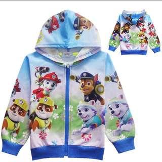 Paw patrol zipper jacket