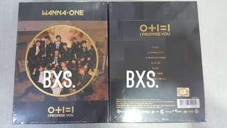 Sealed Instock Official Wanna one I promise you NIGHT VER WITH POSTER