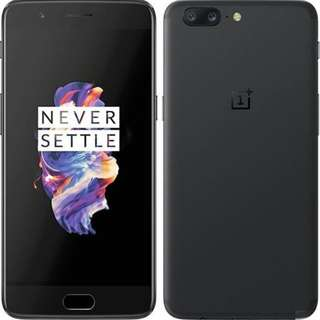 "OnePlus 5, 5.5"" Full HD Display, 8+128G, Black Global Version. Parallel Import"