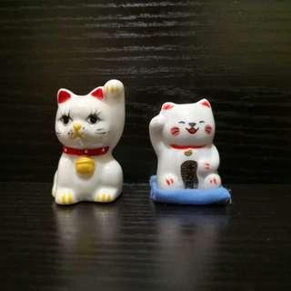 Cat figures rm50 set of 2