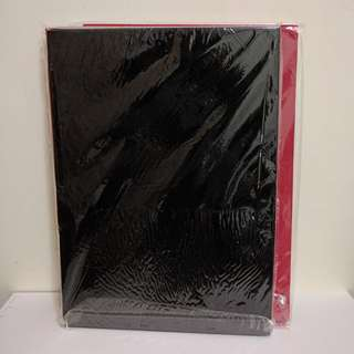 A4 Foam Pieces in Black & Red