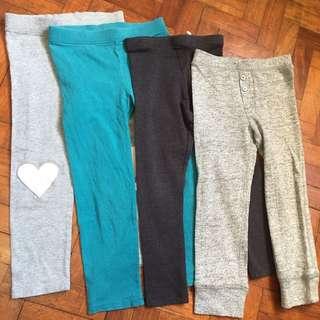 Gap & zara bundle leggings