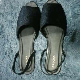 Zalora Velvet Sandals