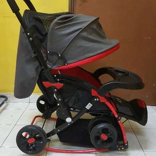 Baby Stroller With Cradle