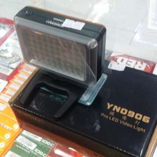 Yongnuo yn0906 led light
