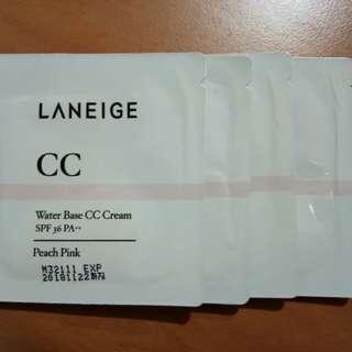 Laneige cc cream sample