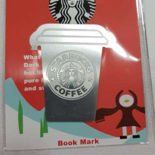 Starbucks bookmark