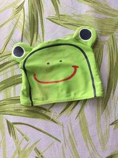 Baby swim hat frog 🐸
