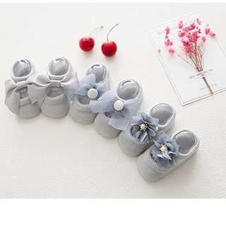 Baby sock (Three pieces) 優雅Baby 袜 (3對)