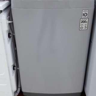 Mesin cuci top loading bisa cucil tanpa kartu credit prses cepat hanya 3 menit