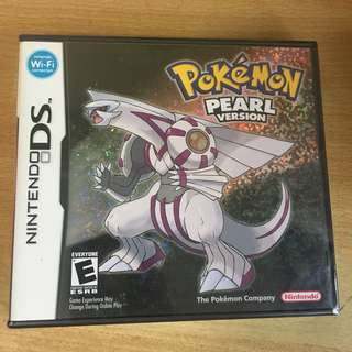 New Pokémon Pearl Game Nintendo DS 3DS factory sealed seal