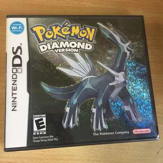 New Pokémon Diamond Nintendo Game 3DS DS factory sealed seal