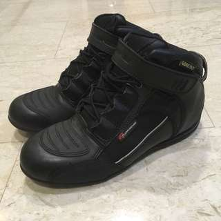 Komine Goretex Riding Shoes BK-063