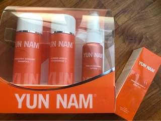 Yun Nam herbalogy ginseng shampoo set