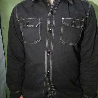 Black Polo Long Sleeves