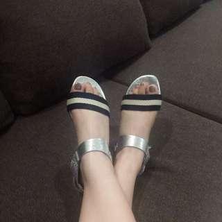 Marks & Spencer Metallic Sandals