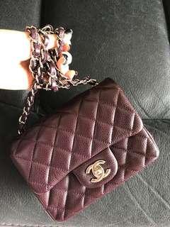 Chanel 17 紫啡色mini