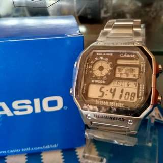 Jam Casio Original AE-1200WHD