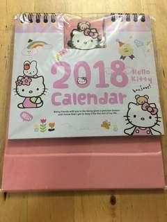 Hello Kitty 2018 Calendar