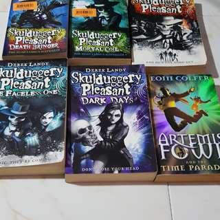 Skulduggery readers