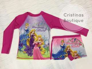 RASHGUARD PRINCESS for KIDS