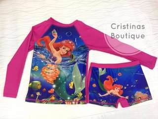 RASHGUARD MERMAID for KIDS