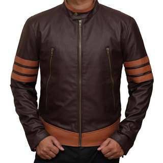 HIGH QUALITY Wolverine Leather Jacket