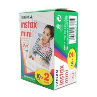 Fujifilm Instax Plain Mini Film 20 Sheets