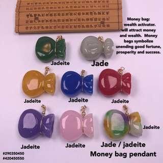 money bag pendan