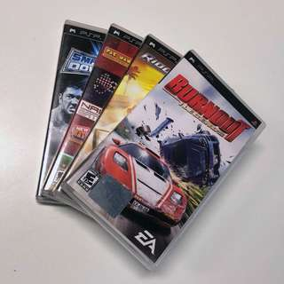 PSP Games (See Description For Available Titles)
