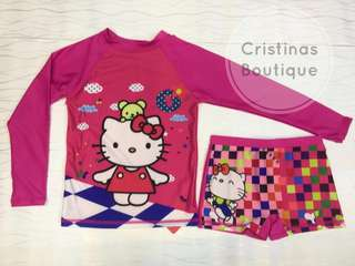 RASHGUARD HELLO KITTY for KIDS
