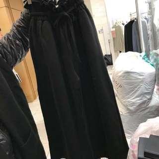舒適棉質寬褲