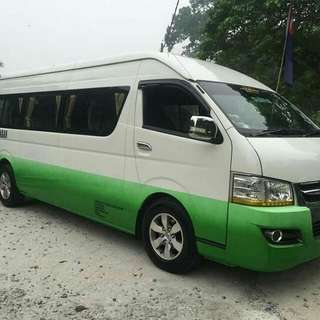 3 Days Package - 14 & 16 Seater Van (include Driver)