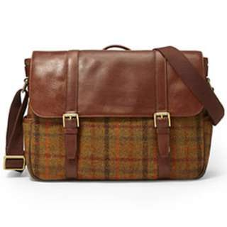 Fossil - Special Edition Estate Harris Tweed Messenger Bag