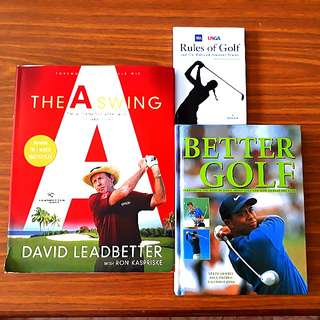 2 for $15: The A Swing, Better Golf (Free Gift: Rules of Golf)