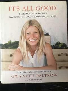 Cookbook It's All Good by Gwyneth Paltrow
