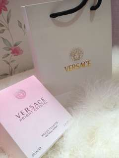 Authentic Versace Bright Crystal